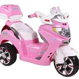 Mainan Anak Motor Aki Pliko Pink