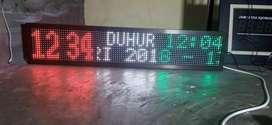 Jam digital sholat 1 MX 20 cm