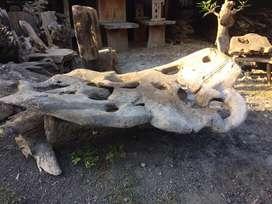 Pajangan kayu jati