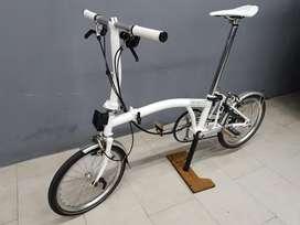 Preloved - Sepeda Brompton