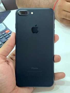 Iphone 7plus 32gb mate black colour