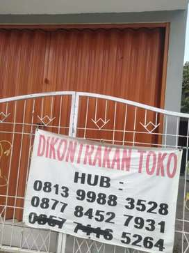 Disewakan Toko pinggir jalan utama perumahan
