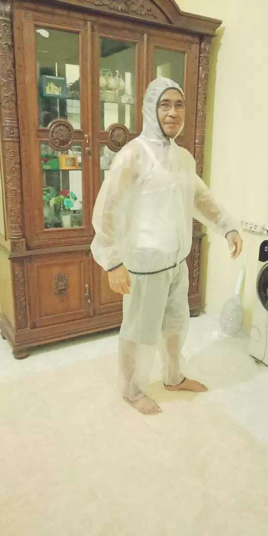 Sauna suit sekaligus pelindung badan 0