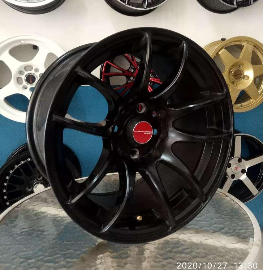 Velg racing bisa buat mobil Avanza Vios R15-7/8.5 h8-100/114.3 et35/30 0