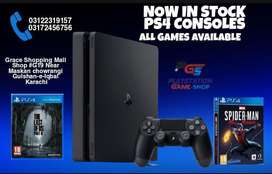 (Used) Ps4 slim 500gb Never Repaired Sealed Console price in karachi