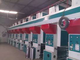 ROTOGRAVURE PRINTING MACHINE, 8 COLOUR,