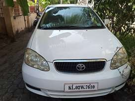 A Toyota Corolla for sale