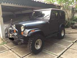 DIJUAL CJ7 TH.81 SPEC OFF-ROAD / FOREST RANGER
