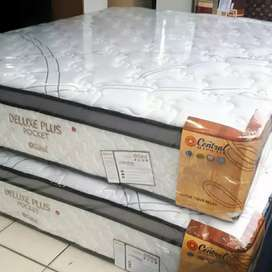 Matras Springbed Central Plus Pocket 120x200 (3D Knitted Fabric)