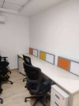 Lakshmi mills signal 1000 sq ft  fully furnished office space for rent