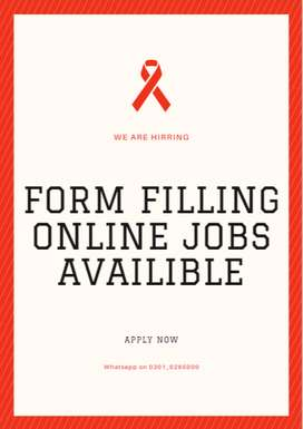 Do some simple online Form filling job and Earn cash for yourself