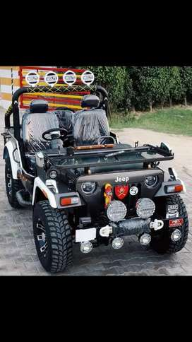 Open Modified Hunter Jeeps on order only