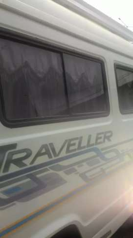 Tempo traveller 12+1