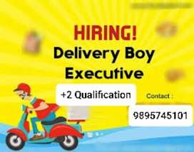 DELIVERY EXECUTIVES REQUIRED