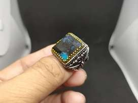 Cincin Bacan Kembang Ring Ukir motif Indian Navajo ukuran 18