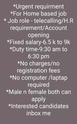 HR recruitment Telecalling