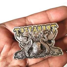 Enamel Metal Pin Badge Testament