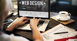 Need a web desiner for desine my web site with seo optimize
