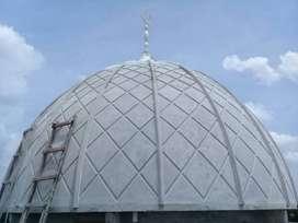 pembuatan kubah mesjid GRC terpercaya di Plumbon - Cirebon