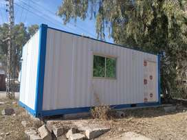 Working Quarter  prefab / office site container available
