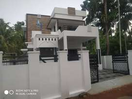 New build ready to occupy 3 bhk 1400 sqft at paravur town just 1km