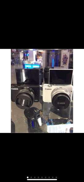 Canon eos m10 Kit 15-45mm 2nd Display mulus lengkap Ori m10 xa10 xa3