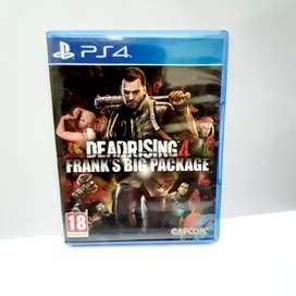 Kaset PS4 DEADRISING4  FRANK'S BIG PACKAGE