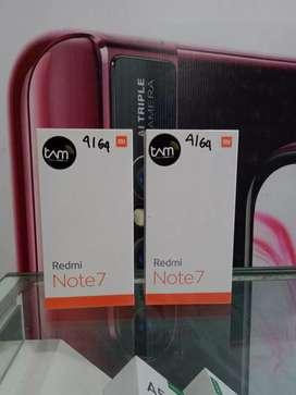 Baru Redmi Note 7 ram 4gb √Bisa Tukar tambah• Dapat Bonus