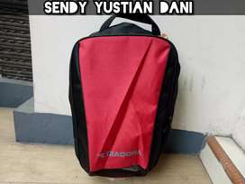 Sale! New & Original Diadora Tas Sepatu Shoes Bag Red Black