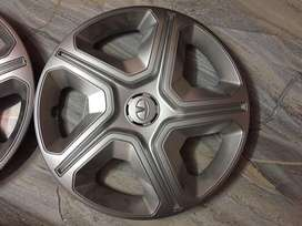 Tata Nexon steel wheel with wheel cap