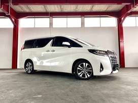 Low KM 9rb Toyota Alphard G ATPM Facelift 2018 Putih