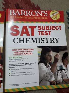 SAT Subject Test practice books