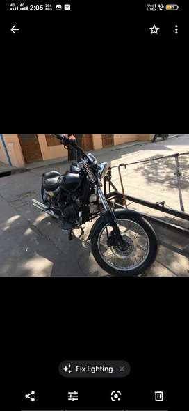 Full modified to Harley Davidson, single seat, broad tyre ,
