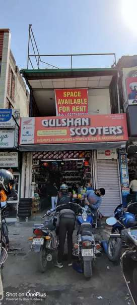 Commercial property on rent in main rajpur road