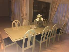 Imported Duco finished Dinning Set For Sale