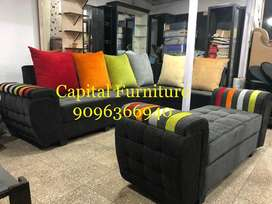 New L shape sofa set on installment at very affordable proce
