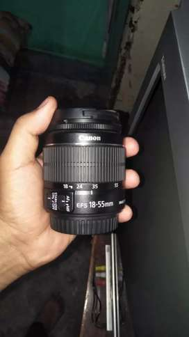Canon 18 _55 only 1month old बिल्कुल नया