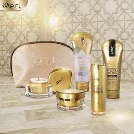 Paket Peraeatan wajah /Skincare B Erl Lightening Series