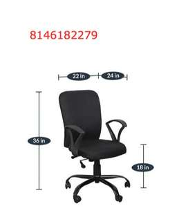 120 Office Chairs revolving for employees - Almost brand new