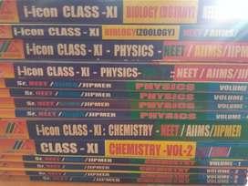 NEET/AIIMS/JIPMER-BIPC-I ICON ACADEMY BOOKS
