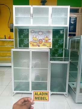 Rak piring keramik pintu 3 ready Aladin sidoarjo Sedati 2510