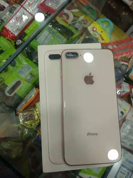 I phone 8 plus 64 gb gold 100%clean