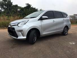 Toyota Calya G 1.2 2016 AT silver metallic