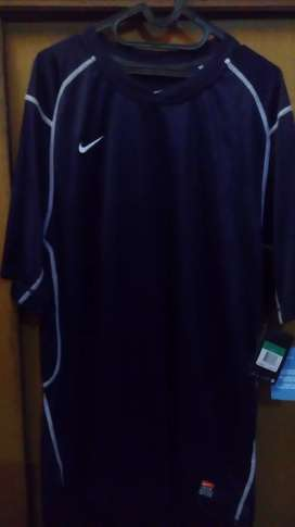 Kaos NIKE DRI FIT Original Navy Blue