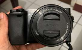 Dijual kamera Sony A6000 Mirrorless, model APS-C