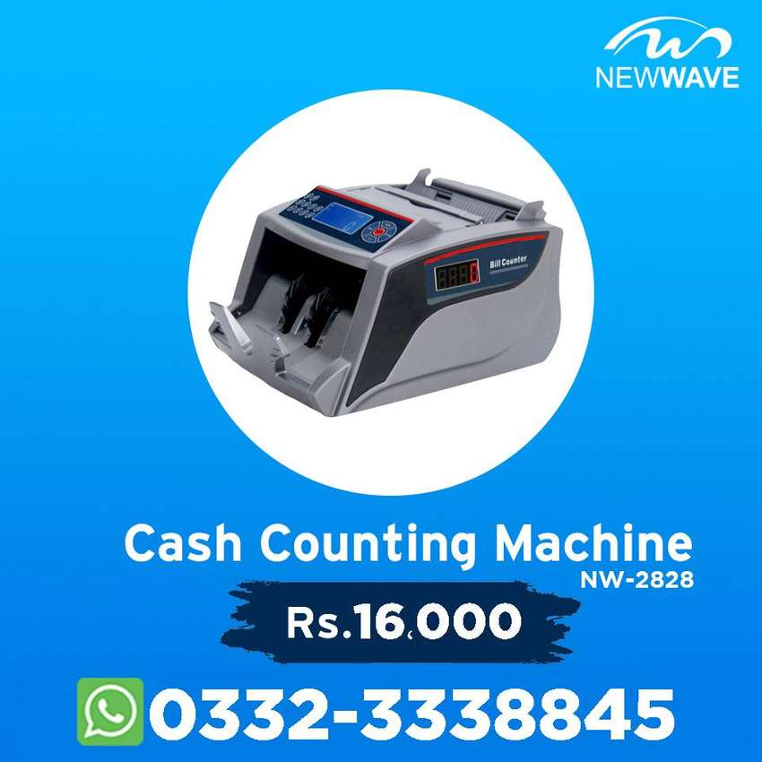 Note Cash Currency Counting Machine in pakistan