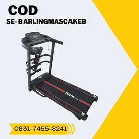 treadmill elektrik tl 618 treadmil manual incline COD Banyumas