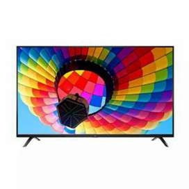 "Cornea 50"" 4K LED TV with warranty Metal body and inbuilt soundbar"