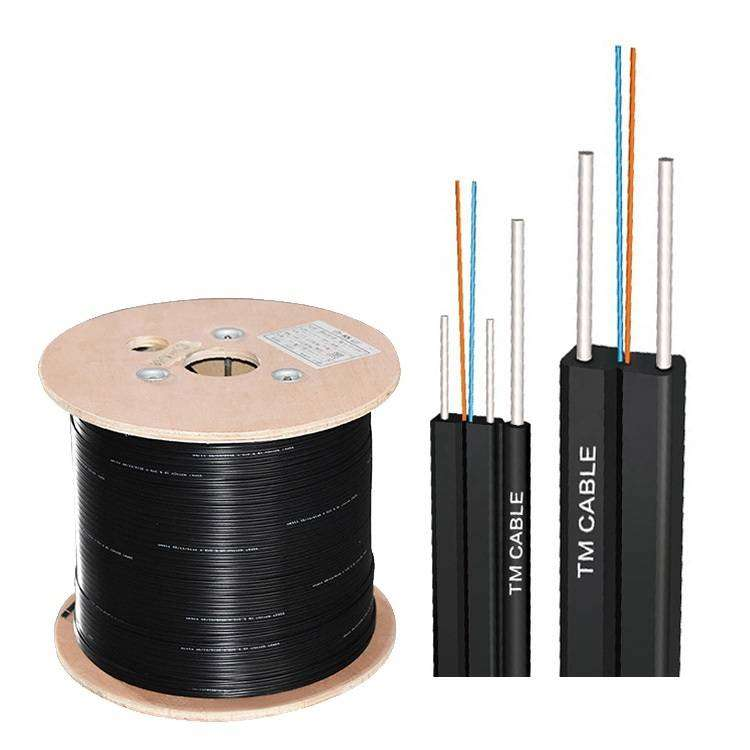 Imported 2-Core Outdoor FTTH LSZH Self-supporting Drop Cable (2000MTR) 0