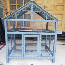 Solid wood Cage for birds